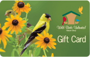 Wild Birds Unlimited Gift Cards, WBU
