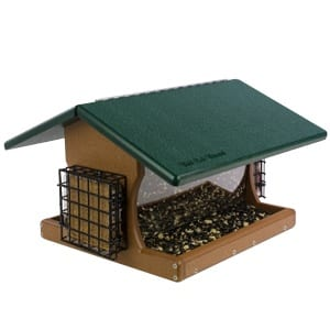 EcoTough Ranchette Retreat Hopper Feeder, Bird Feeder, Wild Birds Unlimited, WBU