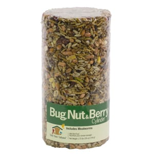 Bug Nut & Berry Seed Cylinder, Bird Food, Wild Birds Unlimited, WBU