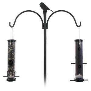 Find Many Great New Used Options And Get The Best Deals For Bird Feeder Stand Outdoor Garden Patio Backyard Standing Pedestal House At