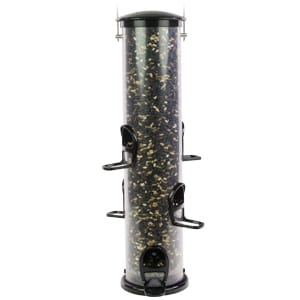Extra Large EcoClean Seed Tube Feeder with Quick-Clean Bottom, Bird Feeder, Wild Birds Unlimited, WBU