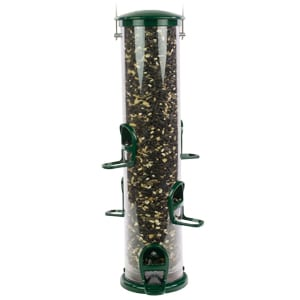 Extra Large Seed Tube Feeder with Quick-Clean Bottom, Bird Feeder, Wild Birds Unlimited, bird feeder