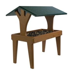 EcoTough Covered Ground Tray, Bird Feeder, Wild Birds Unlimited, WBU