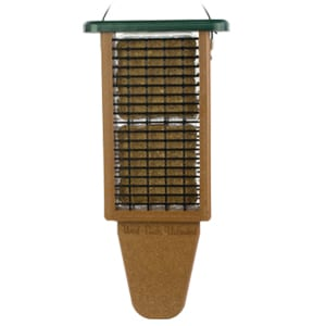 EcoTough Double Tail Prop Suet Feeder, Bird Feeder, Wild Birds Unlimited, WBU