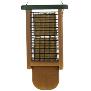 Double Tail Prop Suet Feeder, Bird Feeder, Wild Birds Unlimited, WBU
