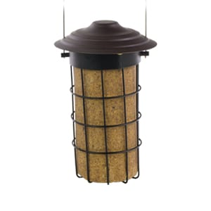 Suet Cylinder Feeder, Bird Feeder, Wild Birds Unlimited, WBU