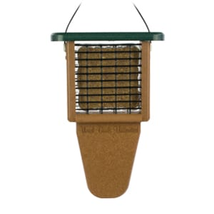 EcoTough Tail Prop Suet Feeder, Bird Feeder, Wild Birds Unlimited, WBU