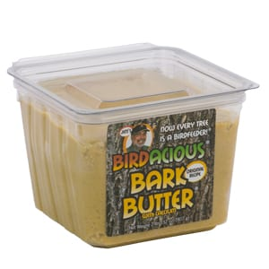 Jim's Birdacious Bark Butter, Bird Food, Wild Birds Unlimited, WBU