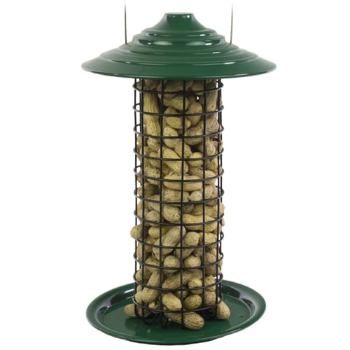 Bakewell Peanut Feeder by Tom Chambers Wooden Wild Bird Nut Feeder
