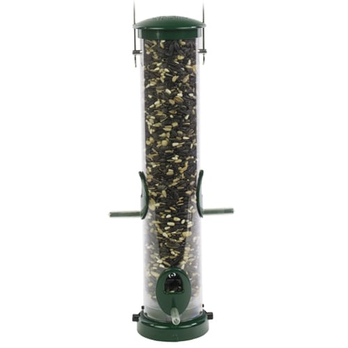 Medium Seed Tube Feeder with Quick-Clean Bottom, Bird Feeder, Wild Birds Unlimited, WBU