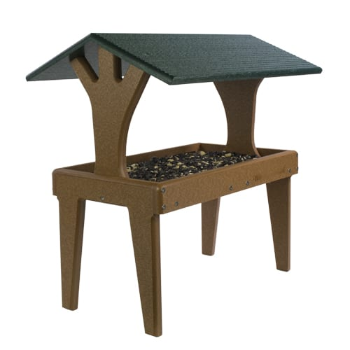 EcoTough Covered Ground Tray, Bird Feeder, Wild Birds Unlimited, WBU