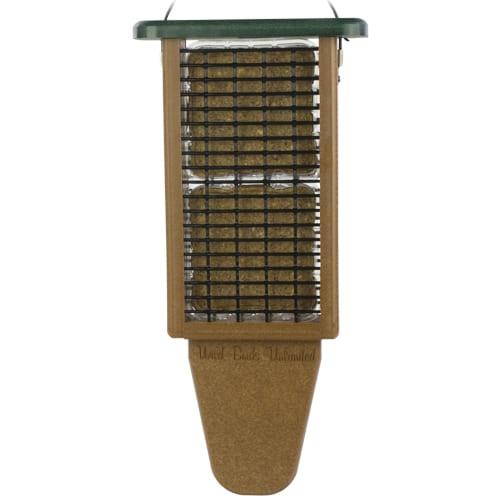 EcoTough Double Tail Prop Suet Feeder, Bird Feeder, Wild Birds Unlimited, WBU