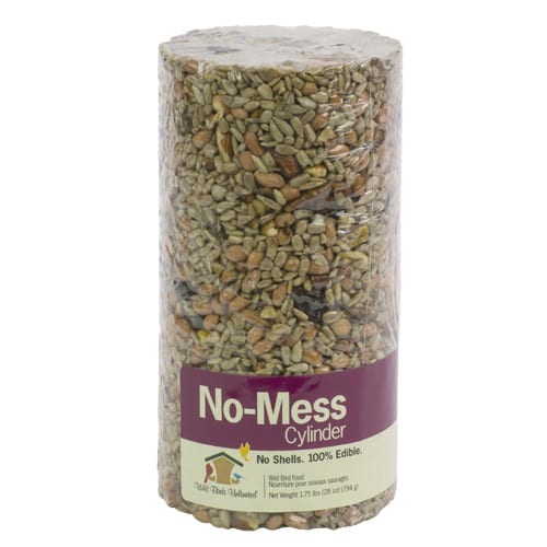 No-Mess Seed Cylinder, Bird Food, Wild Birds Unlimited, WBU