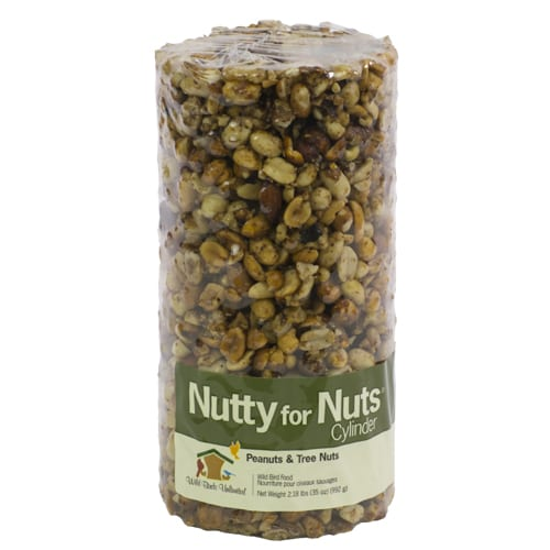 Nutty For Nuts Seed Cylinder, Bird Food, Wild Birds Unlimited, WBU