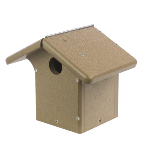 EcoTough Chickadee/Wren Nest Box , Nesting, Wild Birds Unlimited, WBU