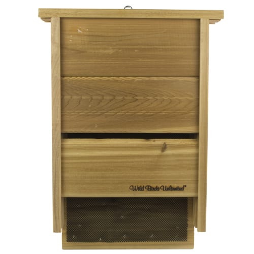 Single Chamber Bat Box, Wild Birds Unlimited, WBU